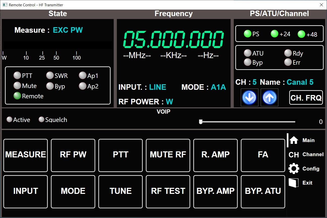 Transmitter HF - Software