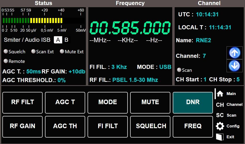 RX630A - Receivers MF/HF